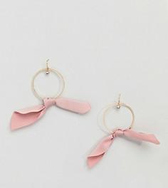 Серьги-кольца Accessorize - Розовый