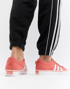 Оранжевые кроссовки adidas Originals Nizza CQ2331 - Оранжевый