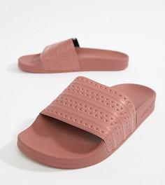 Розовые шлепанцы adidas Originals Adilette - Розовый