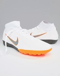 Белые кроссовки Nike Football Mercurial Superflyx 6 Astro AH7370-107 - Белый