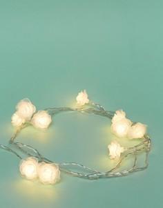 Гирлянда из фонариков-роз Fizz Wedding - Мульти