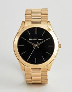 Наручные часы Michael Kors MK8621 Runway - Золотой