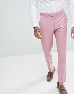 Розовые брюки зауженного кроя River Island Wedding - Розовый