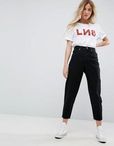 Черные джинсы бойфренда ASOS DESIGN - Черный