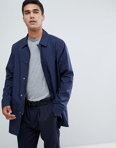Темно-синий макинтош с карманами FoR - Темно-синий