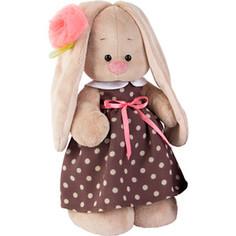 Мягкая игрушка Budi Basa Зайка Ми в кофейном платье (большая)
