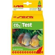 Тест SERA CO2-Test Carbon Dioxide-Test на содержание диоксид углерода для воды в аквариуме 15мл
