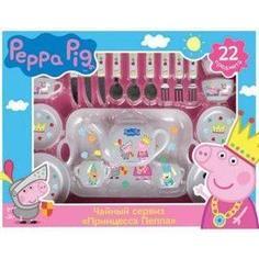 Набор посуды Росмэн Принцесса Пеппа 22 пр Peppa Pig (29700)
