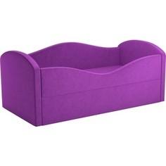 Детская кровать АртМебель Сказка вельвет фиолетовый