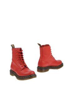 Полусапоги и высокие ботинки Dr Martens
