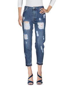 Джинсовые брюки-капри Junkyard.
