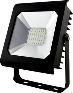 Прожектор уличный Эра LPR-50-6500К-М SMD PRO светодиодный 50Вт корп.мет.черный (Б0028662) ERA