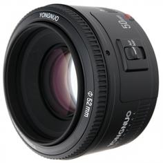 Объектив Yongnuo 50mm F/1.8 Nikon F (черный)