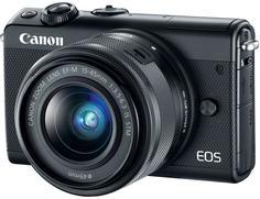 Цифровой фотоаппарат Canon EOS M100 Kit 15-45 IS STM (черный)