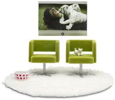 Набор мебели для домика Lundby Домашний кинотеатр