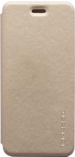 Чехол-книжка Gresso Atlant для Samsung Galaxy A6+ (золотистый)