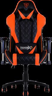 Игровое кресло ThunderX3 TGC15 (черно-оранжевый)
