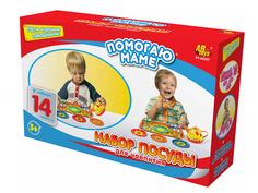 Игра ABtoys Набор посуды для чаепития Помогаю маме PT-00257