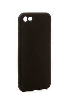 Аксессуар Чехол Pero Soft Touch для APPLE iPhone 8 Black ПЕРО
