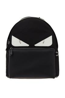 Рюкзак с белыми вставками Fendi