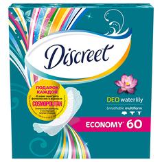 Прокладки ежедневные DISCREET DEO Waterlily 60 шт
