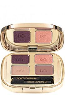 Тени для век Quad, оттенок 110 Nude Dolce & Gabbana