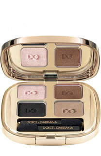 Тени для век Quad, оттенок 105 Smoky Dolce & Gabbana