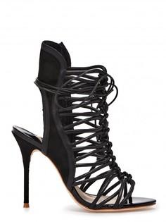 Босоножки Lacey с плетением на высоком каблуке Sophia Webster