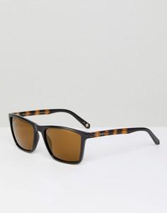 Черные квадратные солнцезащитные очки Ted Baker TB1456 012 Wade - Черный