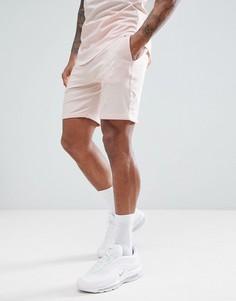Бежевые шорты с логотипом Gym King - Бежевый