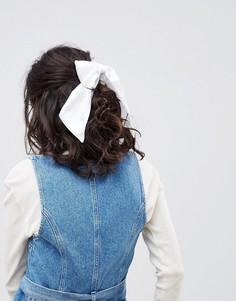 Заколка для волос с атласным бантом ASOS DESIGN - Мульти