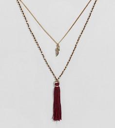 Ожерелье с кисточкой и подвеской Uncommon Souls - Золотой