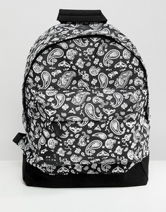 Рюкзак с платочным принтом Mi-Pac - Черный