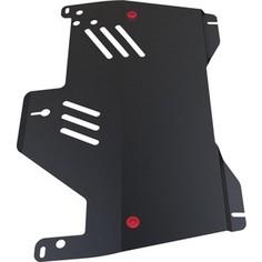 Защита картера и КПП АвтоБРОНЯ для Nissan Murano (2009-2016), сталь 2 мм, 111.04118.1
