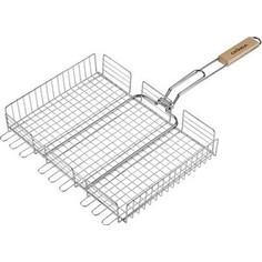 Решетка для гриля Grinda 424711 barbecue, объемная, 255х310мм