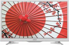 "LED телевизор AKAI LES-24A69W ""R"", 24"", HD READY (720p), белый"