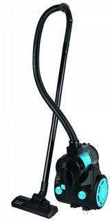 Пылесос SCARLETT SC-VC80C12, 1500Вт, голубой/черный