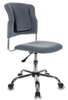 Кресло БЮРОКРАТ CH-322SXN, на колесиках, ткань [ch-322sxn/grey]
