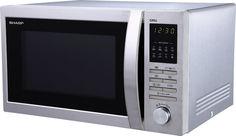 Микроволновая печь SHARP R-7496ST, серебристый