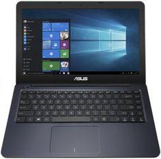 "Ноутбук ASUS VivoBook F402WA-GA035T, 14"", AMD E2 6110 1.5ГГц, 4Гб, 500Гб, AMD Radeon R2, Windows 10, 90NB0HC3-M02660, темно-синий"