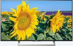 """LED телевизор SONY KD49XF8096BR2 49"""", Ultra HD 4K (2160p), черный/ серебристый"""