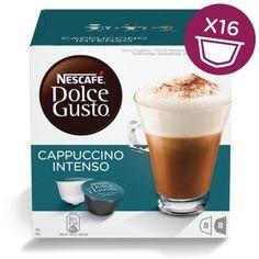 Кофе капсульный DOLCE GUSTO Cappuccino Intenso, капсулы, совместимые с кофемашинами DOLCE GUSTO®, 192грамм [12352784]