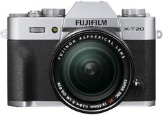 Фотоаппарат со сменной оптикой Fujifilm X-T20 Kit 18-55mm (серебристый)