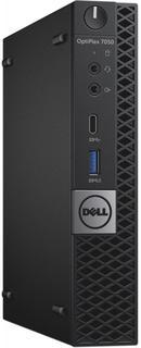 Системный блок Dell Optiplex 7050-8350 Micro (черный)