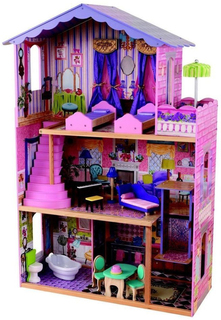 """Кукольный домик KidKraft для Барби """"Особняк мечты"""" с мебелью"""
