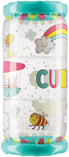 Развивающая игрушка Happy Baby GYMEX игровой надувной цилиндр (разноцветный)