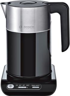 Электрочайник Bosch TWK8613P (черно-серебристый)