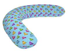 Подушка для беременных LeJoy Relax Рыбки на голубом фоне RL-1010