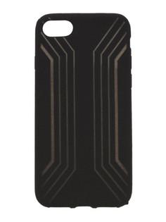 Аксессуар Чехол Liberty Project Silicone для APPLE iPhone 8 / 7 Black-Gold 0L-00031819
