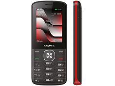 Сотовый телефон teXet TM-D329 Black-Red